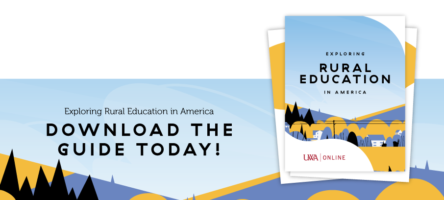 "Call-to-action image ""Exploring Rural Education in America: Download the Guide Today!"""